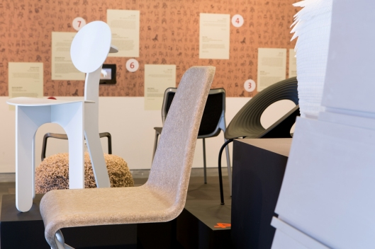 Martin Mostb__ck  Flaxx chair 2011 and Sahar Batsry Full Moon Chair, 2012 DMH collection Benny Gam Zo LeTova2 (4)