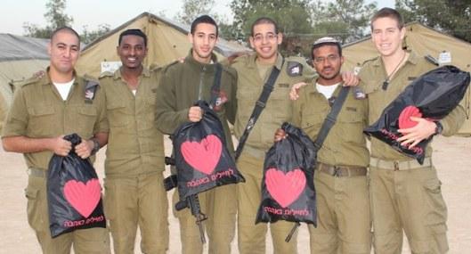 חבילות לחיילים