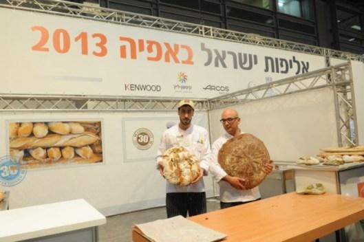 משתתפים בתחרות האפייה תערוכת המזון 2013 של שטיר-צילום דניאלה מיסן