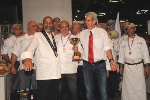 תחרות אפייה תערוכת המזון 2013 של שטיר הזוכה מקס שמעוני -צילום דניאלה מיסן