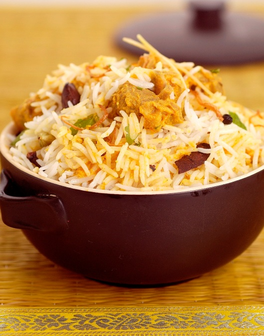 Dum Gosht Biryani by chef Sanjeev Kapoor_photo SanjeevKapoor website